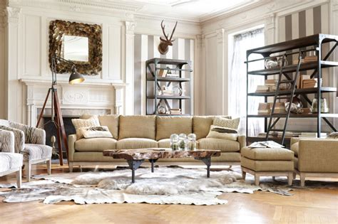dante collection traditional living room  arhaus