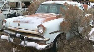 1953 Ford Customline Six 4 Door Sedan For Sale