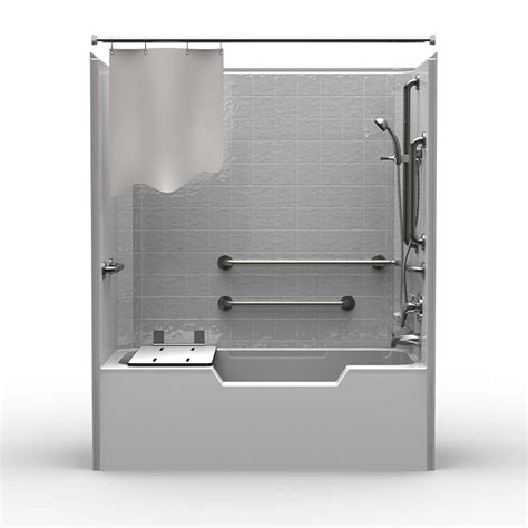 single piece code compliant      showertub