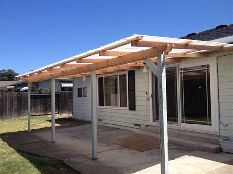 exteriorsimple wood awning   columns  front porch