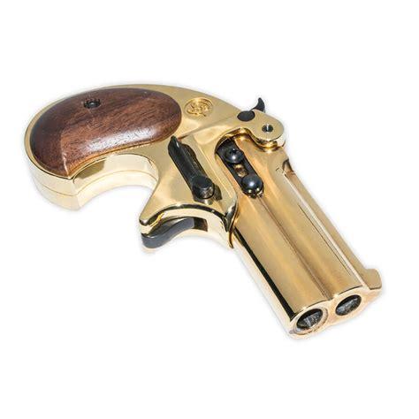 Blank Firing Gun Derringer - Antiqued Finish