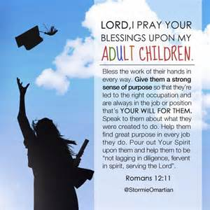 Prayer for My Adult Children