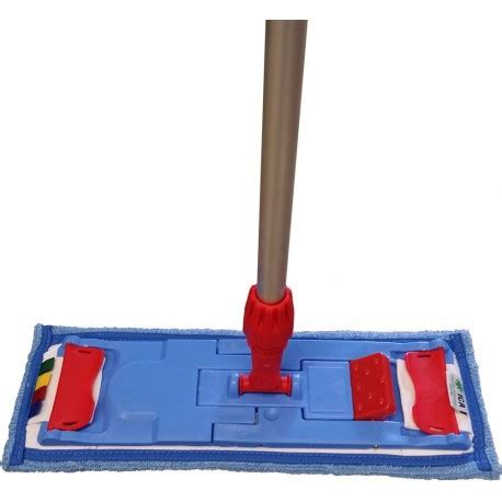 Balai De Lavage à Plat Professionnel Blpcica Balai 40 Cm De Lavage 224 Plat Complet Basic