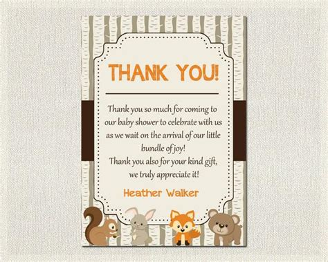 How To Write Thank You Cards For Baby Shower by Baby Shower Thank You Card Boys Gender Neutral