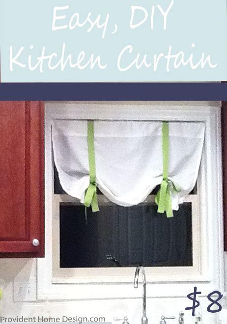 easy  diy curtain