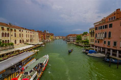 Gran Canal Venice Venezia Editorial Image Image Of