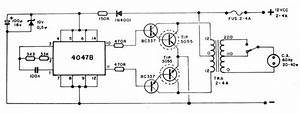 Varios Lumagui 02 Circuito Inversor 12v Cc 110 220v Ac 20