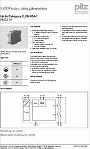 Pnoz X7 774053 Datasheet