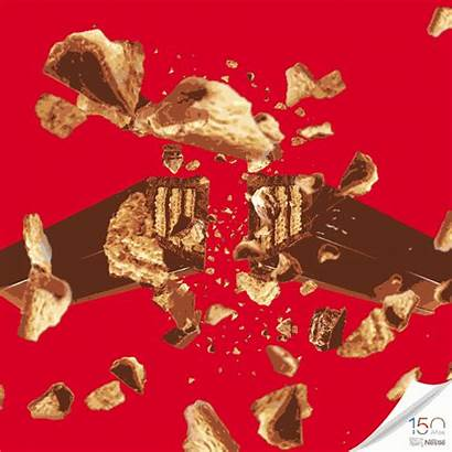 Kat Kit Kitkat Chocolate Break Gifs Colombia