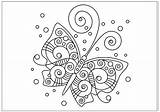 Butterfly Coloring Pages Printable Fun Spiral These Only Print Drawings Drawing Any Reproduce Resell Provided Personal Form Please Been sketch template