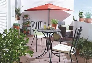 Sonnenschirm Kleiner Balkon : die besten obi inspirationen f r terrasse und balkon ~ Michelbontemps.com Haus und Dekorationen