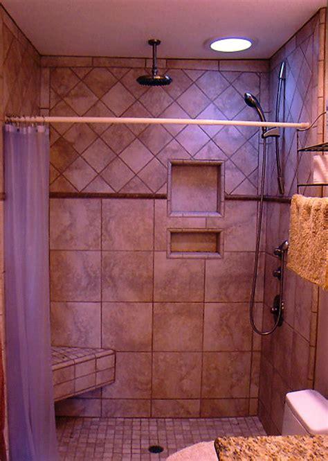 Bathroom Shower Stalls by Tiled Shower Stalls Pictures Shower Stall With Porcelain