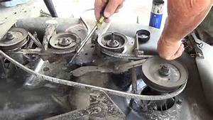 Another Craftsman Lt1000   42 U0026quot  Deck Belt Replacement   Oil