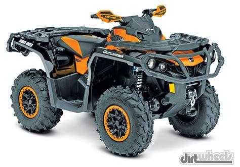 can am renegade 1000 dirt wheels magazine 2015 4x4 atv buyer s guide