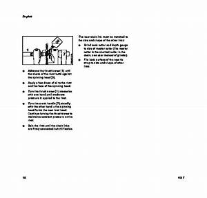 Stihl Ng 7 Bench Chain Breaker Cultivator Owners Manual