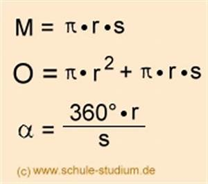 Körper Berechnen Formeln : kegel berechnen volumen oberfl che und mantelfl che pictures to pin on pinterest ~ Themetempest.com Abrechnung
