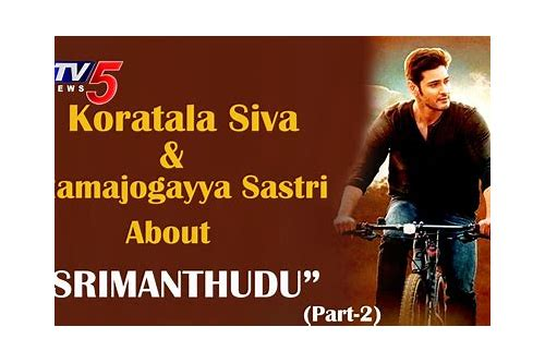 Ca  30 Resultater: Srimanthudu Full Movie In Hindi Dubbed