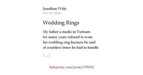 wedding rings by jonathan witte hello