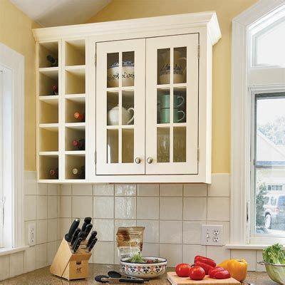 kitchen cabinets custom wall wine rack  wine