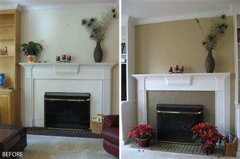 diy fireplace surround fireplace brick painted jpg 2821