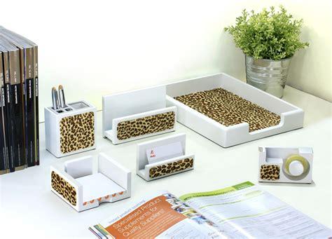 Animal Print Desk Accessories!