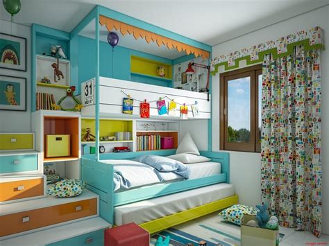 chambres enfants chambres d 39 enfant déco hyper colorées deco tendency