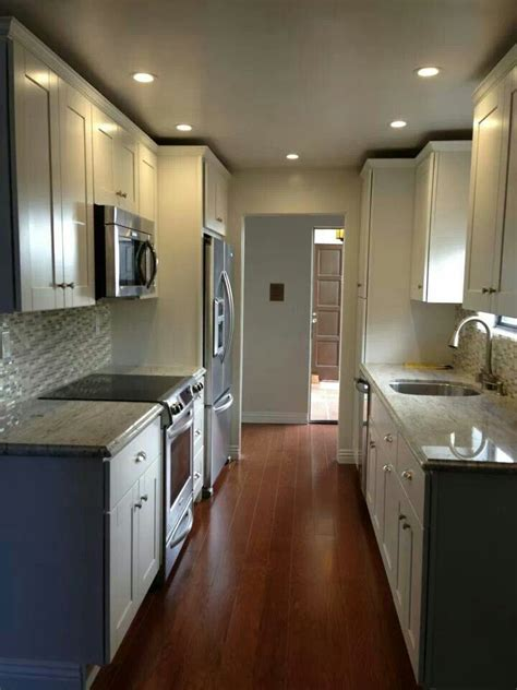 Galley Kitchen Remodel Gen4congress