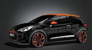Ds3 Noir Et Orange : citroen ds3 racing et cabriolet auto titre ~ Gottalentnigeria.com Avis de Voitures