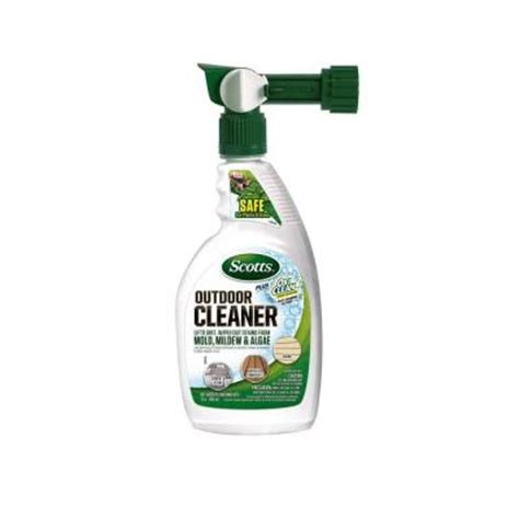 Scotts 32 Oz Rts Plus Oxiclean Outdoor Cleaners51060c1