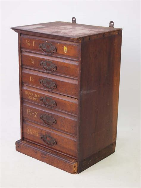 small bank  drawers carpenters cabinet
