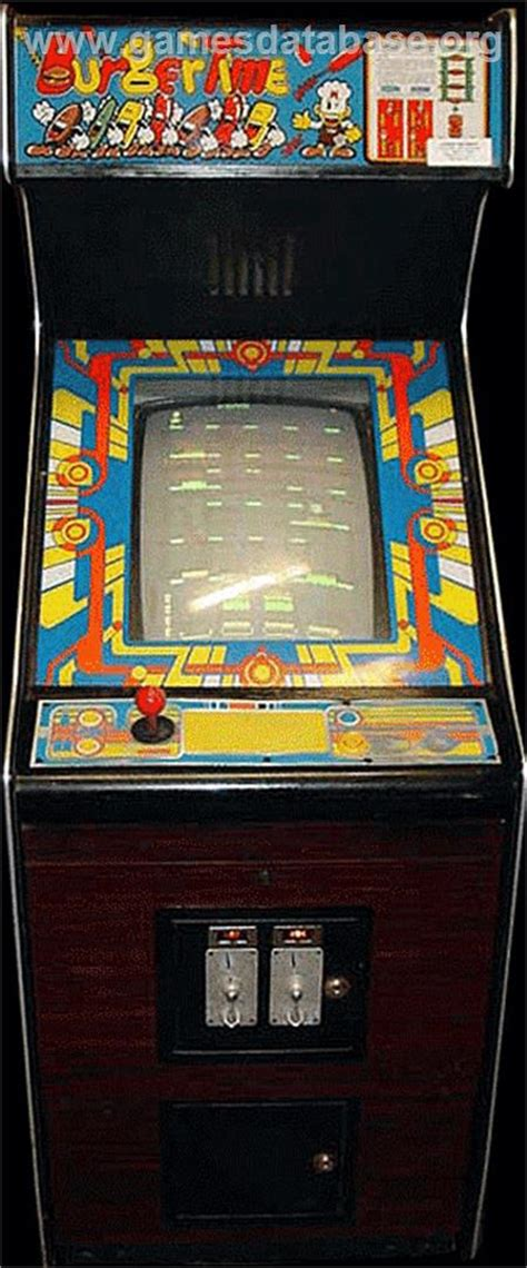 Burger Time Arcade Games Database