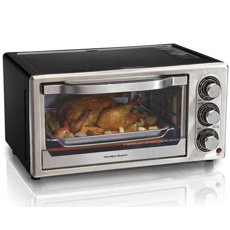 6 Slice Toaster Oven On Sale by Convection 6 Slice Toaster Oven 31512 Hamiltonbeach