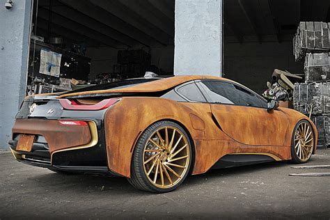 bmw  rust wrap custom  metrowrapz hiconsumption