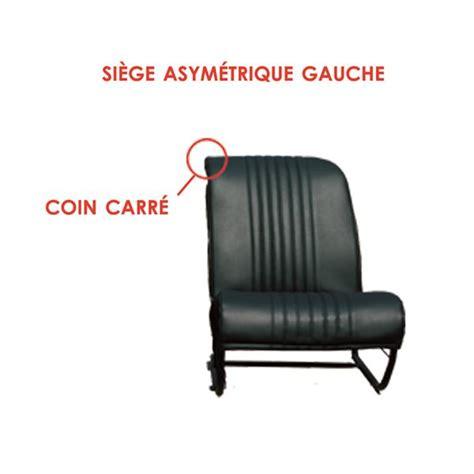 garniture siege 2cv garniture siège av g asymétrique skaï noir 2cv