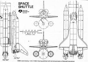 Space Shuttle Technical Drawings (page 4) - Pics about space