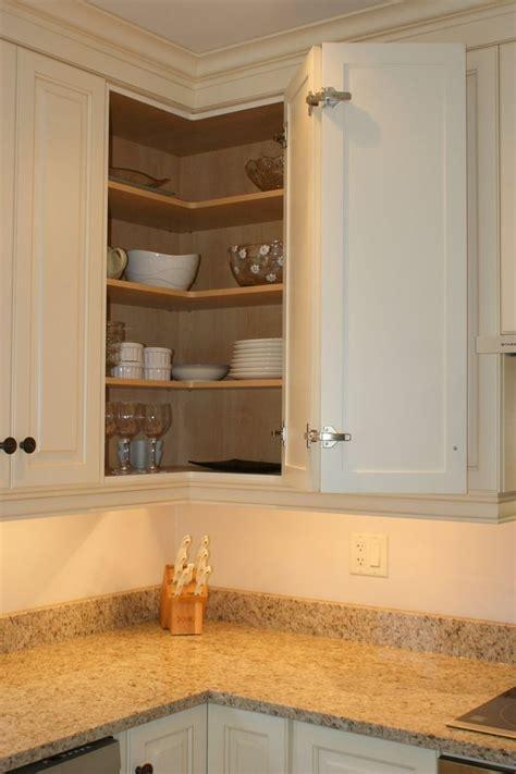 access  upper corner cabinet kitchen remodel