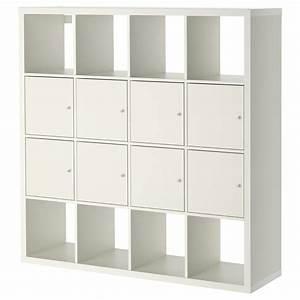 Ikea Kallax Zubehör : kallax shelving unit with 8 inserts white 147 x 147 cm ikea ~ Markanthonyermac.com Haus und Dekorationen
