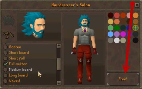 How To Get A Haircut In Runescape