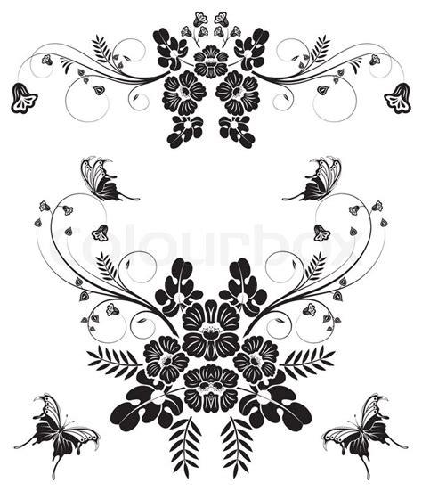 butterfly border black and white black and white butterfly border www imgkid the