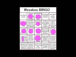 Weeaboo Bingo (+ my anime love story) - YouTube