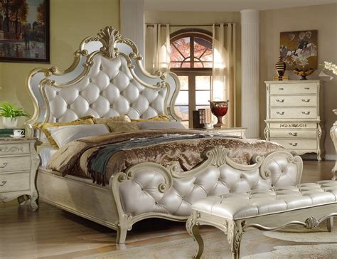 tufted bed king sanctuary antique white king bed with tufted headboard 2959