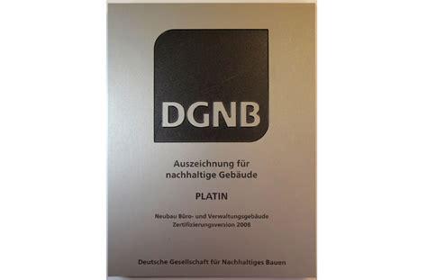 Deutsche Gesellschaft Fuer Nachhaltiges Bauen by B 252 Rogeb 228 Ude City Gate Stuttgart