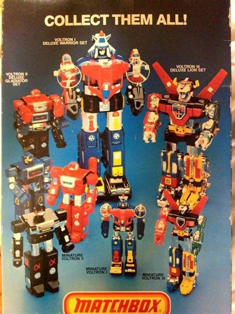 voltron toys robot lion gladiator force comic 1980s toy books classic vehicle retro matchbox dairugger power rangers reading gi playing