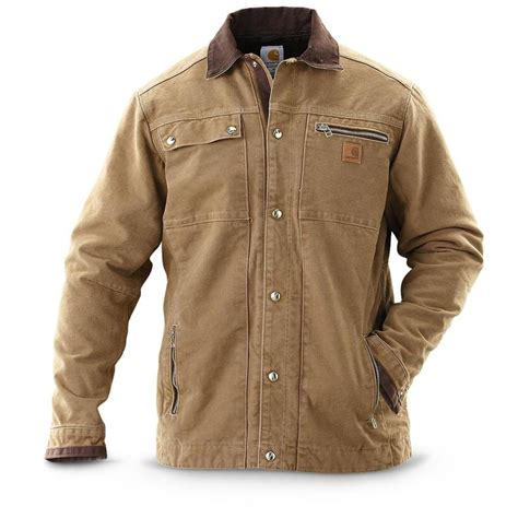 tall carhartt sandstone multipocket jacket carhartt