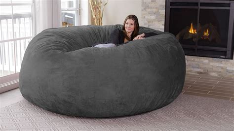 siege jumbo chill sack 8 bean bag chair dudeiwantthat com