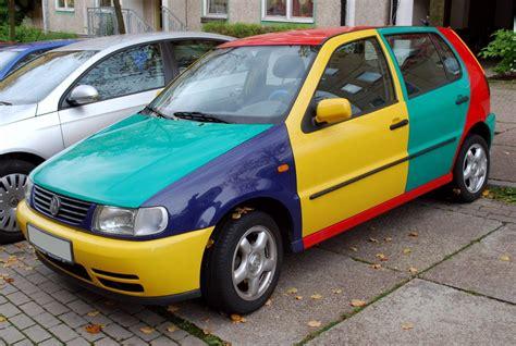 volkswagen harlequin yesterday 39 s specials vw polo harlequin petrolblog