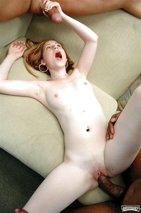Blonde Teen Fucking Black Cock ShesFreaky