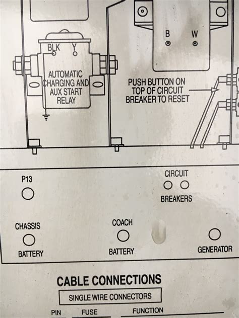 Fleetwood Pace Arrow Battery Wiring Diagram by I A 2003 Pace Arrow The Switch For The Engine