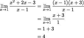 Limit berarti menuju suatu batas penyelesaian limit dengan substitusi langsung maka hasilnya 0/0 sehingga untuk menyelesaikannya perlu digunakan cara faktorisasi. Soal Limit Aljabar yang Diselesaikan dengan Pemfaktoran