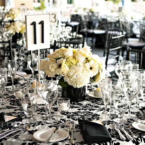 black and white floral centerpieces 301 moved permanently